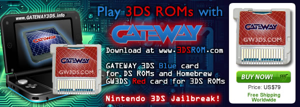 Gateway R4 3DS ROM shop